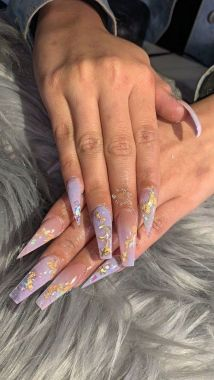 Pretty Acrylic Nails Ideas To Perfect Your Styles 24 2