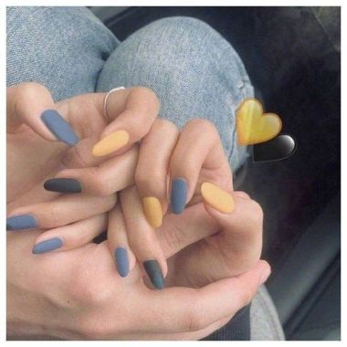 Pretty Acrylic Nails Ideas To Perfect Your Styles 44 1