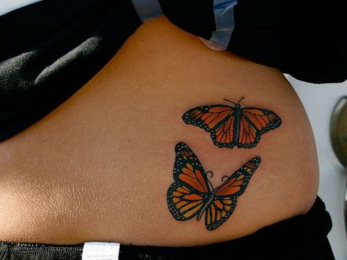 Amazing Butterfly Tattoo Designs And Placement Ideas For Women 12