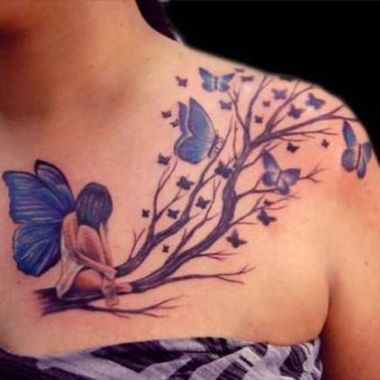 Amazing Butterfly Tattoo Designs And Placement Ideas For Women 13
