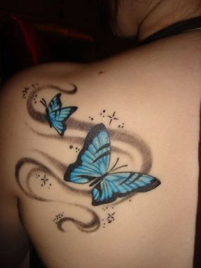 Amazing Butterfly Tattoo Designs And Placement Ideas For Women 31