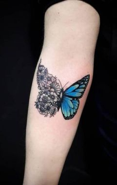 Awesome Butterfly Tattoo Design Ideas For Women 05
