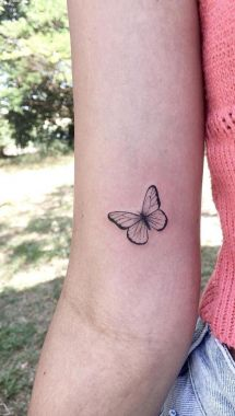 Awesome Butterfly Tattoo Design Ideas For Women 10