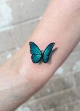 Awesome Butterfly Tattoo Design Ideas For Women 32