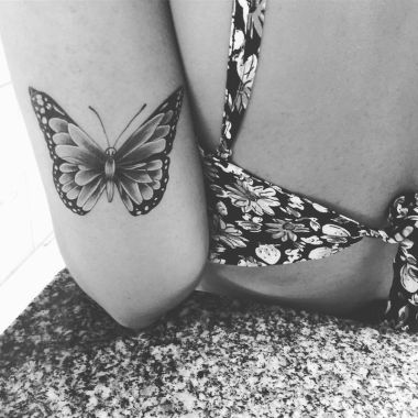 Awesome Butterfly Tattoo Design Ideas For Women 35