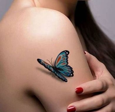 Awesome Butterfly Tattoo Design Ideas For Women 38