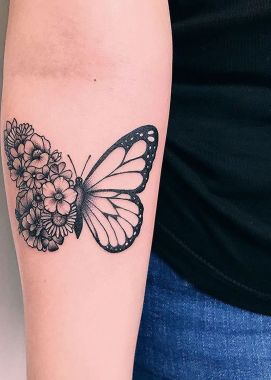 Awesome Butterfly Tattoo Design Ideas For Women 39