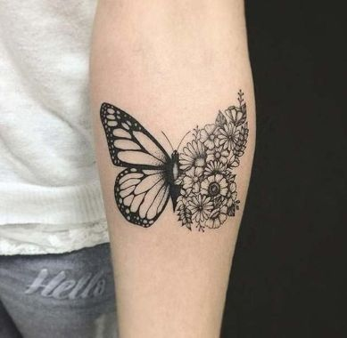 Awesome Butterfly Tattoo Design Ideas For Women 53