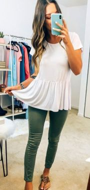 Casual Spring Outfits For Women Look Cute 03 1
