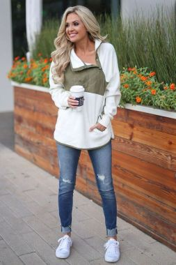 Casual Spring Outfits For Women Look Cute 12