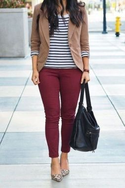 Casual Spring Outfits For Women Look Cute 15