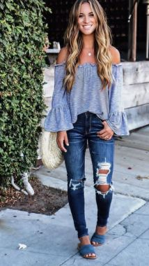 Casual Spring Outfits For Women Look Cute 27