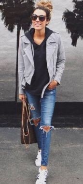 Casual Spring Outfits For Women To Look Cute 23