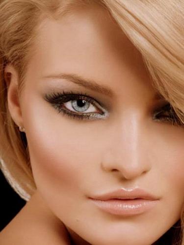Eye-Makeup for Gray Eyes