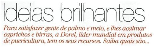Dorel - Ideias Brilhantes