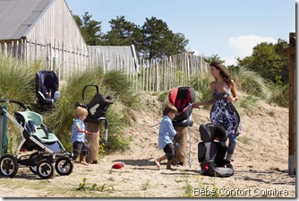 Maxi-Cosi na praia
