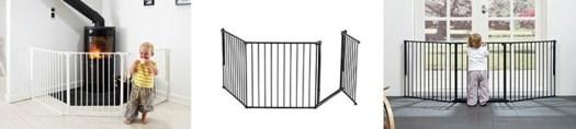 A Configure Flex L é uma barreira ideal para manter o seu filho longe de escadas ou aberturas largas, como um divisor de quarto, ou mesmo como uma protecção de lareira.