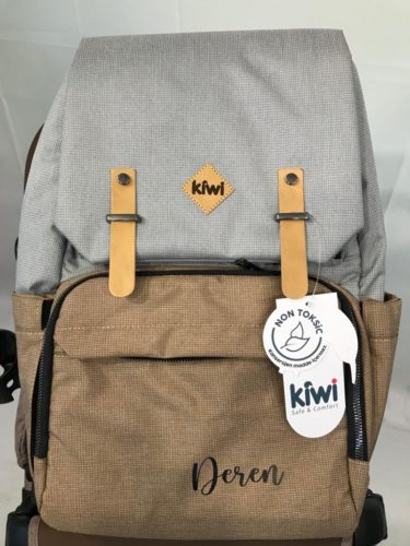 Kiwi CoolBag Anne-Bebek Bakım Sırt Çantası - Coffee photo review