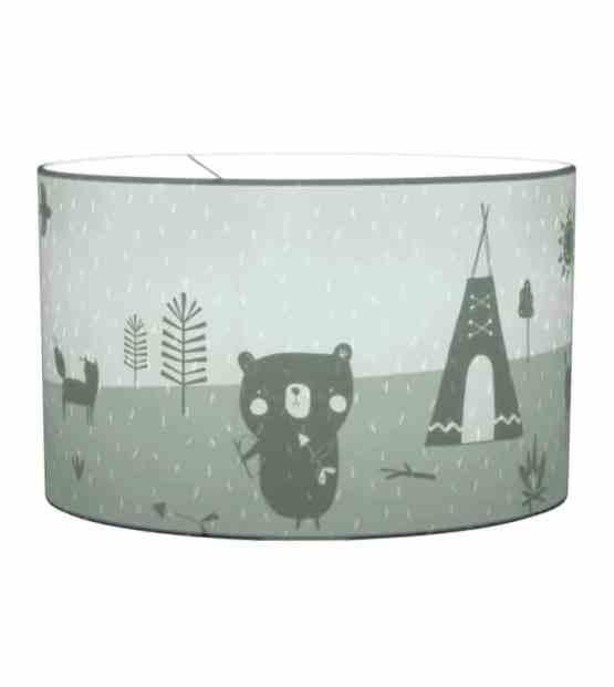 10426 Hanging Lamp Adventure Mint Aan