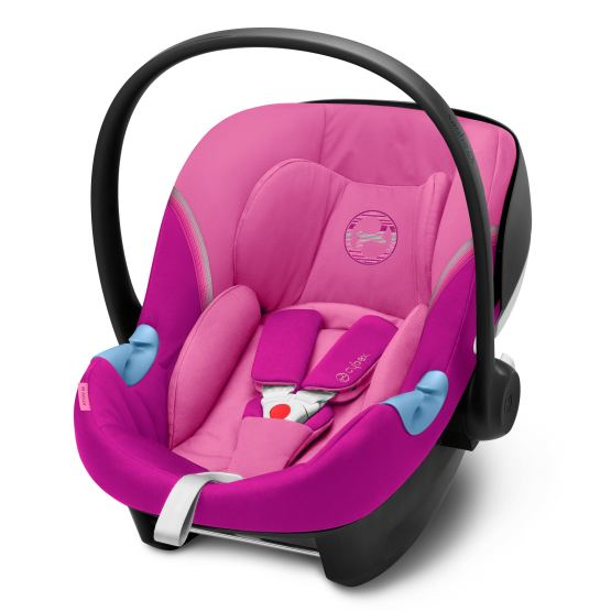 Cybex Aton M i-Size with Sensorsafe Magnolia Pink