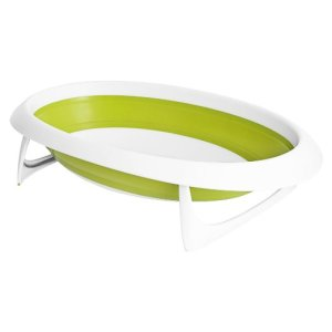 Banheira Portatil Green/White Boon