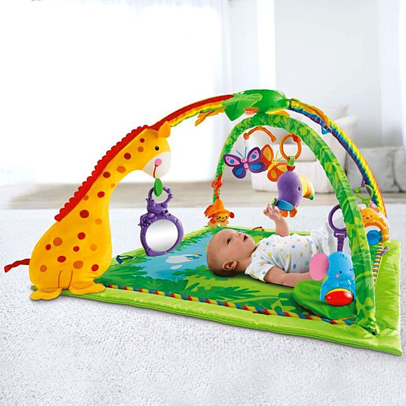 tapis d eveil fisher price jungle