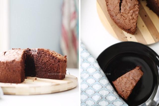 Chiffon Cake Cokelat