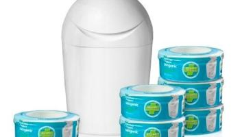 contenedor pañales: Tommee Tippee Sangenic