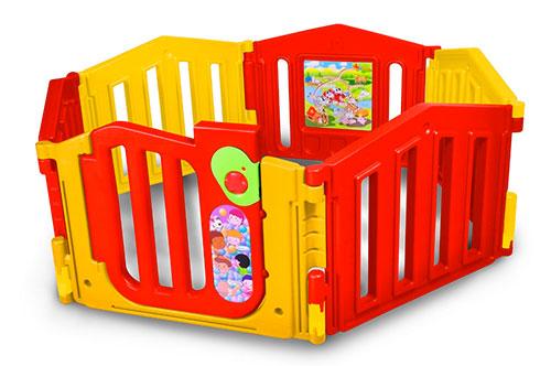 Parque infantil / bebé hexagonal