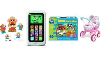 Juguetes recomendados para niños y niñas de 2 a 3 años