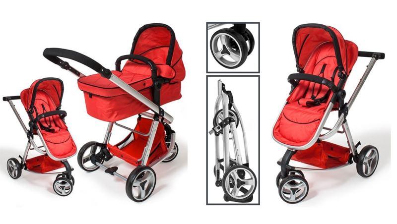 Carrito de bebé TecTake 3 en 1 (unos 160 euros)