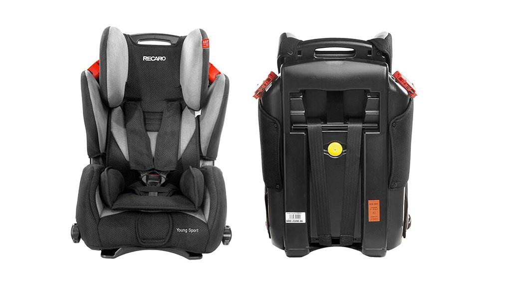Recaro young sport grupo 1 2 3 silla de coche para for Sillas para bebes coche