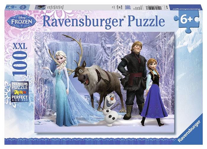 puzzle frozen 100 piezas
