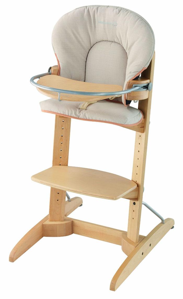 Comparativa de tronas evolutivas para beb s y ni os hauck for Silla de bebe de madera