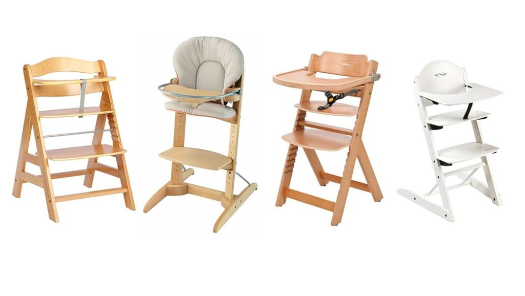 Comparativa tronas evolutivas: Hauck, Bebé Confort, Storchenmühle y Safety 1st