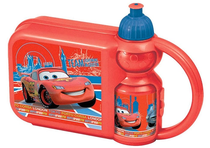 Spel 004520 Disney Cars 2 - Fiambrera para almuerzo con botella