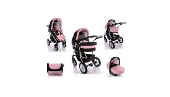 Coral C11: cochecito de bebé combinado 3 en 1 por menos de 300 euros
