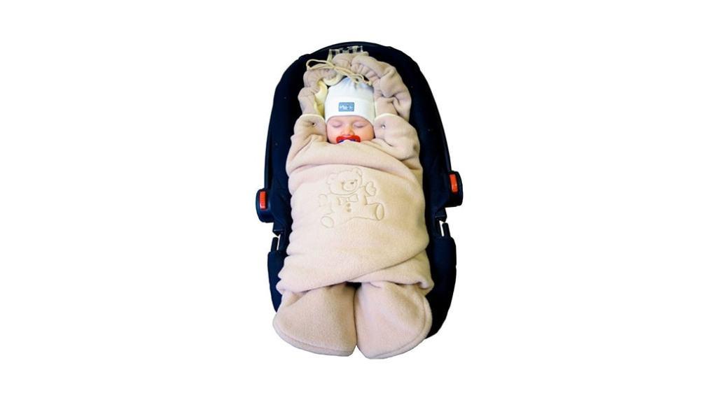 Emitex MULTI: cobertura, saco, buzo, manta (todo en uno) para tu bebé