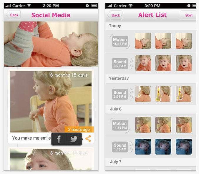 iHealth (iBaby Monitor)  app