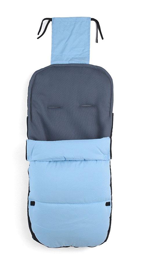 Altabebe AL2400 - Saco de abrigo para carrito de color azul claro
