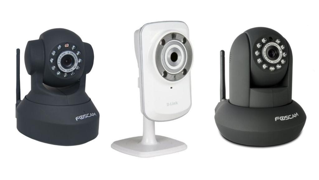 Cámaras IP de vigilancia como vigilabebés: más baratas y con más prestaciones (D-Link DCS-932L, Foscam FI8918W y FI9821W/B)