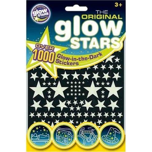 The Original Glowstars - Estrellas adhesivas que brillan en la oscuridad
