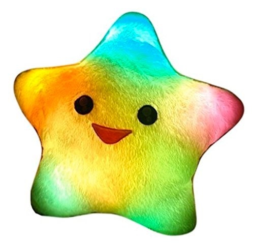 estrella almohada luminosa