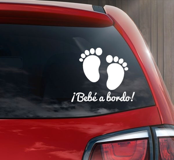 Sticker bebé a bordo