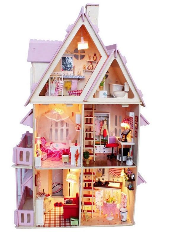 casa de muñecas: Sunshine Alice Dollhouse