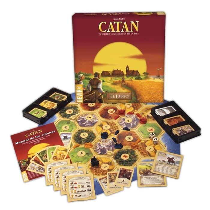 Devir - Catan, juego de mesa