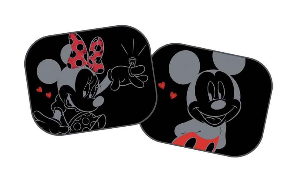 3 parasoles infantiles para coches por menos de 10 euros: Mickey, Minnie y Dream Baby G257