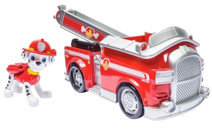 Fuego Fightin Camión Vehículo de la Patrulla Canina
