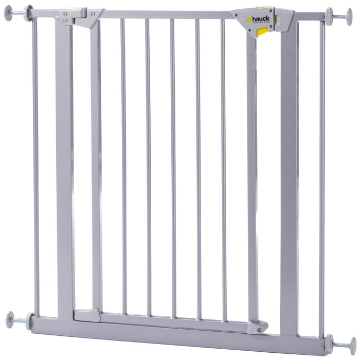 Hauck 597101 - Barrera de seguridad con puerta (75-81 cm)