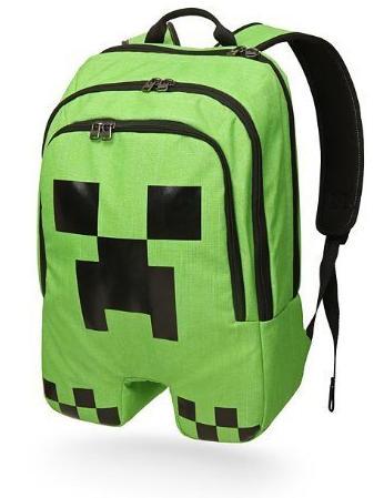 Mochila Minecraft Creeper, una de las mochilas más populares y vendidas de esta vuelta al cole 2015